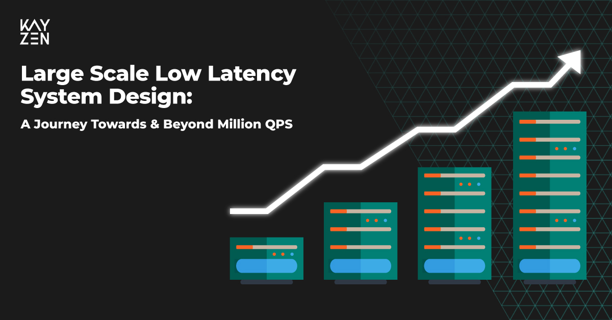 Large Scale Low Latency System Design: A Journey Towards & Beyond Million QPS